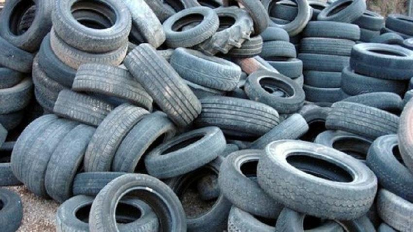 Laikinai stabdomas naudotų padangų atliekų priėmimas