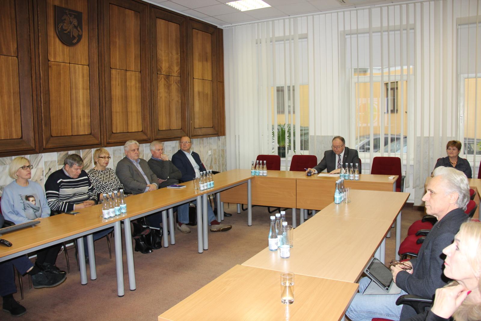 Tarybos darbotvarkė apsvarstyta visuose komitetuose
