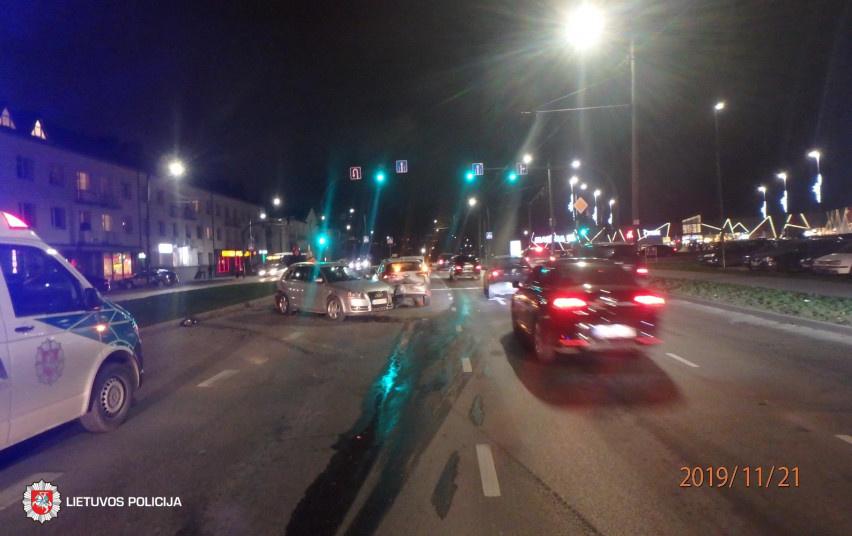 Kauno mieste ir rajone – neblaivių vairuotojų sukeltos avarijos