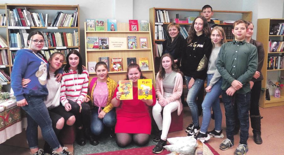 Zūbiškių bibliotekoje – Pepės Ilgakojinės gimtadienis