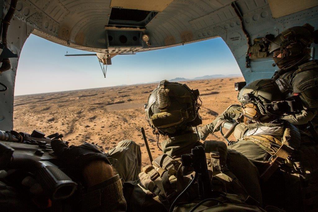 """Pagerbti misijoje """"Tvirta parama"""" Afganistane dalyvavę Specialiųjų operacijų pajėgų kariai"""