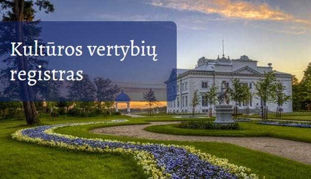 Kultūros vertybių registre bus tikslinami 3 Molėtų rajono objektų duomenys