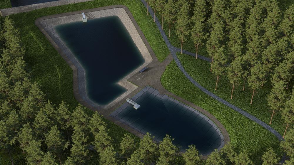 Didžiosios Dailidės ežerėlyje įrengiami paviršinių nuotekų surinkimo ir valymo įrenginiai