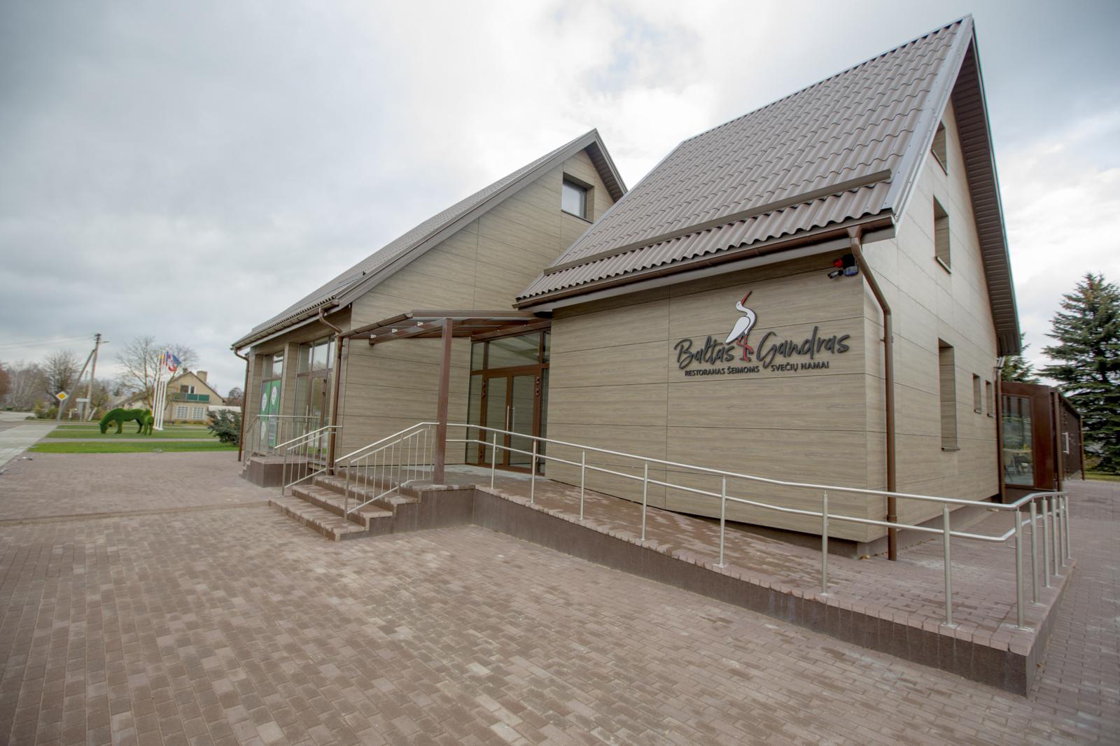 Duris atvers vienintelis restoranas šeimoms Šiaulių rajone
