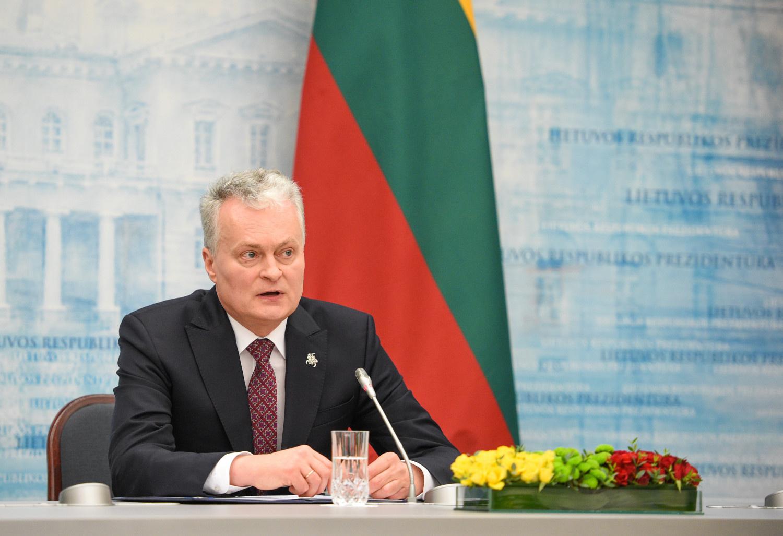 G. Nausėda: susisiekimo ministras nebegali eiti savo pareigų