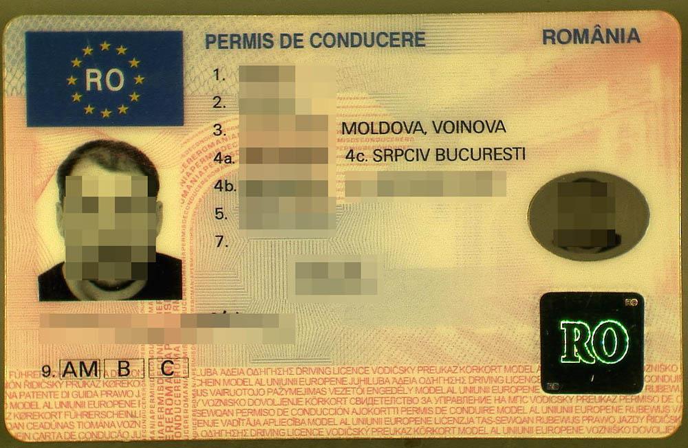 Tarptautinis patrulis sulaikė, įtariama, padirbtą vairuotojo pažymėjimą pateikusį rumuną (foto)