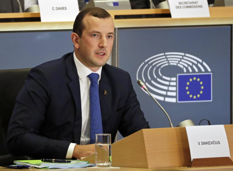 G. Nausėda apie V. Sinkevičių: galime pasidžiaugti pasiūlę gerą kandidatą, kuris buvo patvirtintas