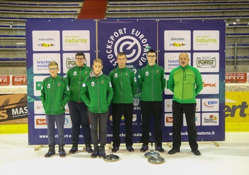 Lazdijiečių startai Europos aisštoko taurės varžybose
