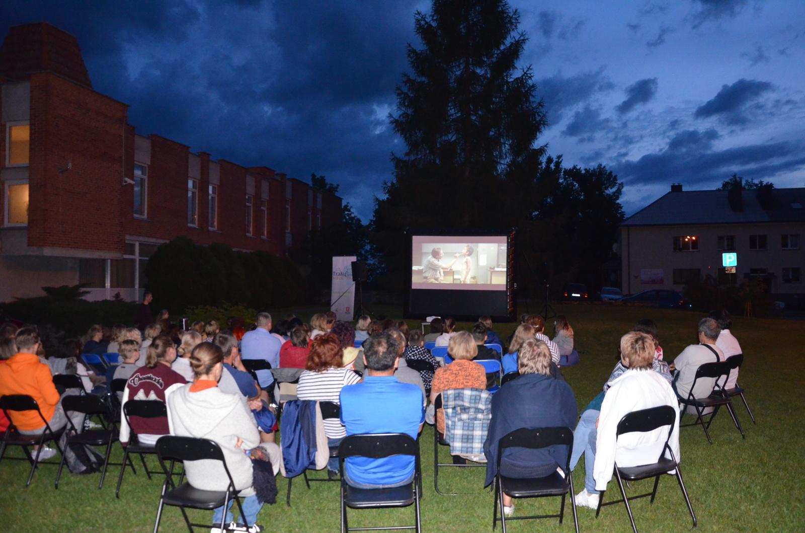 Migruojančio kino vakarai Trakų rajone