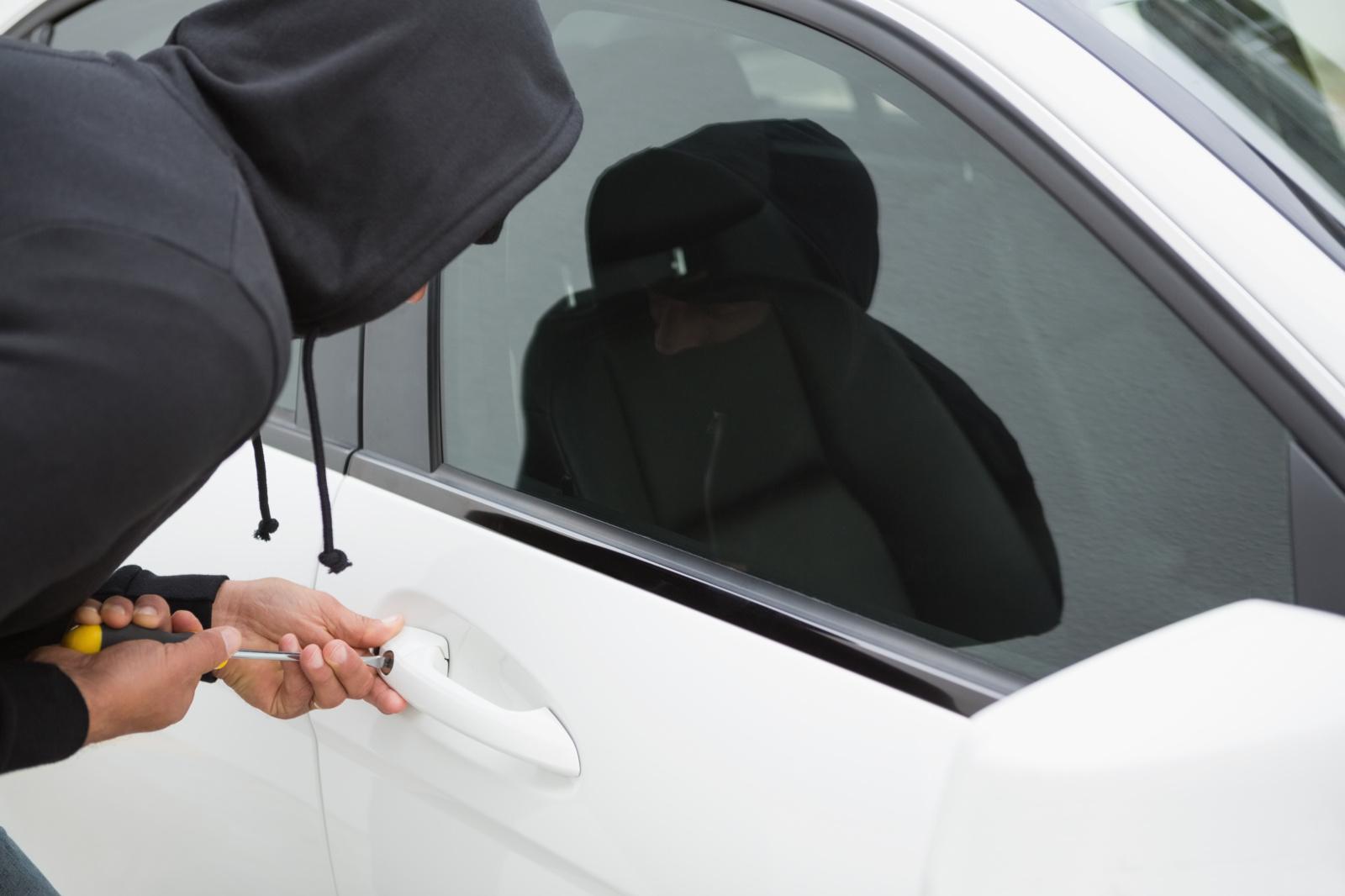 Rokiškyje apvogtas automobilis