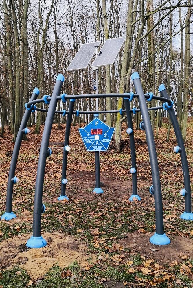 Moderniausia vaikų žaidimų aikštelė Lietuvos kaimelyje
