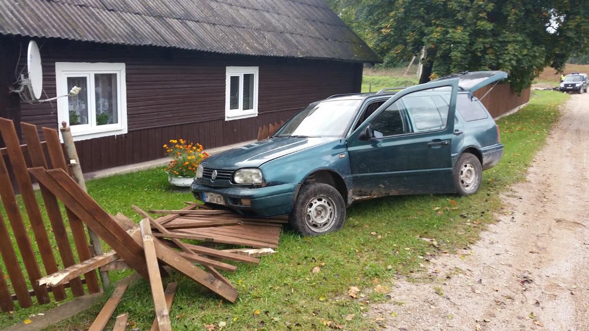 Šalčininkų rajone sulaikyti du girti vairuotojai