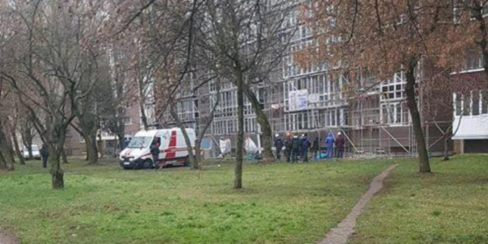 Skaudi nelaimė Panevėžyje: žuvo statybininkas
