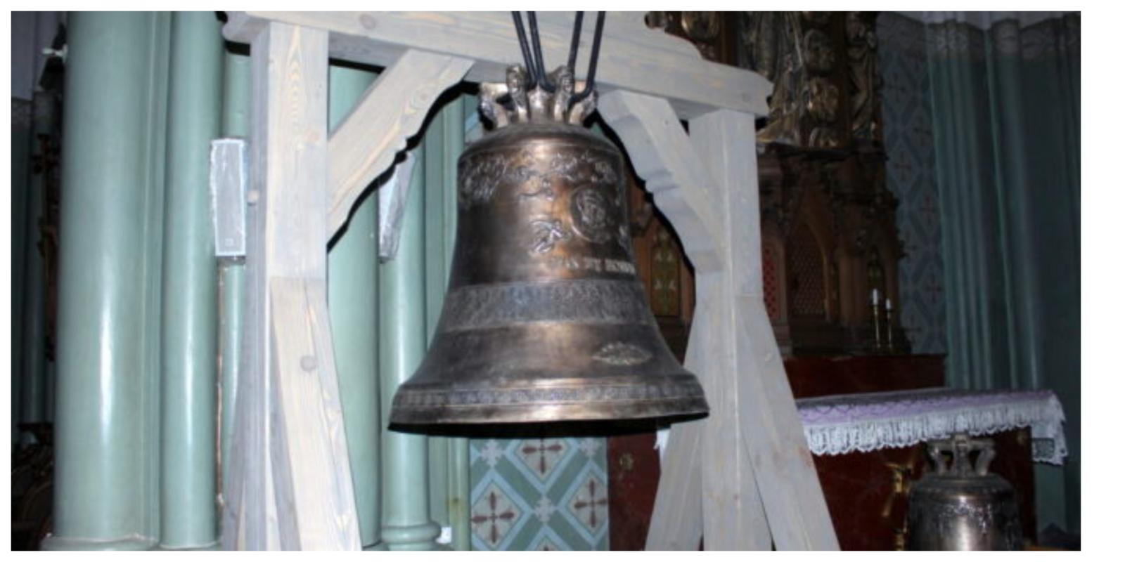 Daugiau kaip po šimto metų į Rokiškį grįžta trijų varpų skambesys