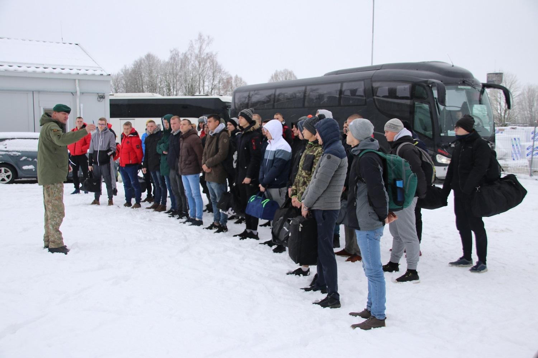 Prieštankinėje kuopoje daugiausia karo prievolininkų– iš Šiaulių