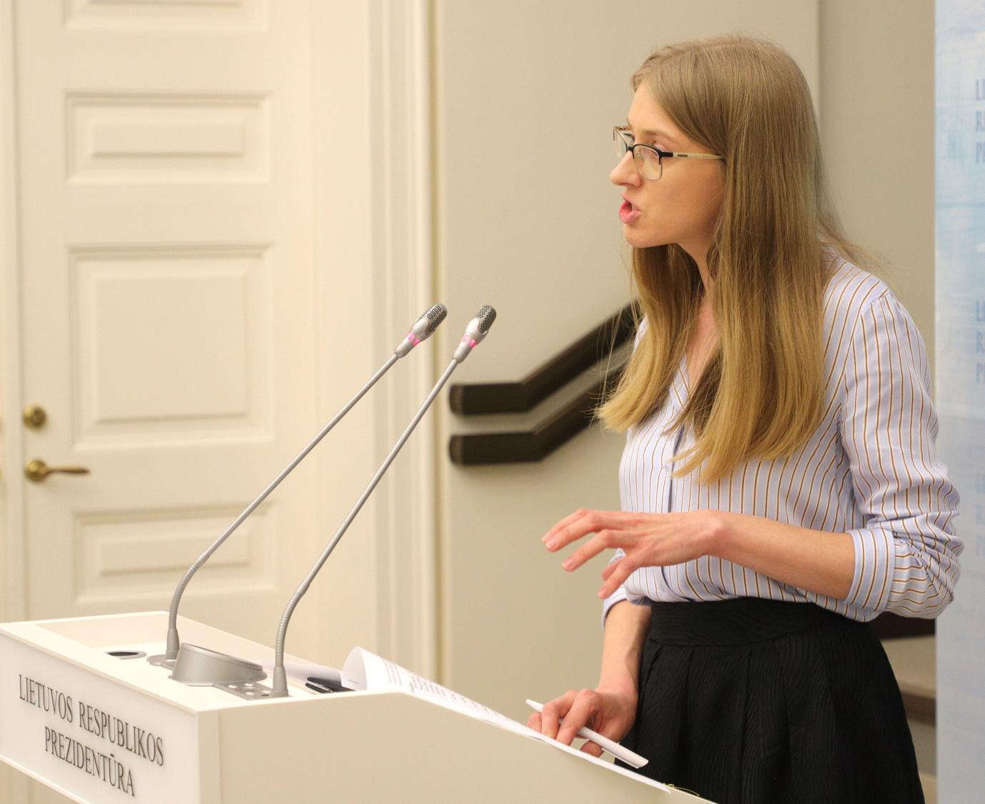 S. Šulcė: Prezidentūra planuoja organizuoti Švietimo forumą