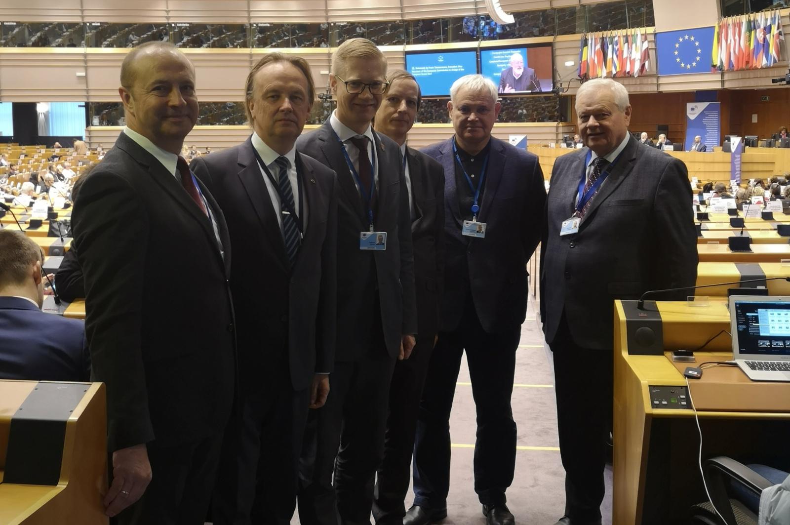 Ričardas Malinauskas baigė kadenciją Regionų komitete