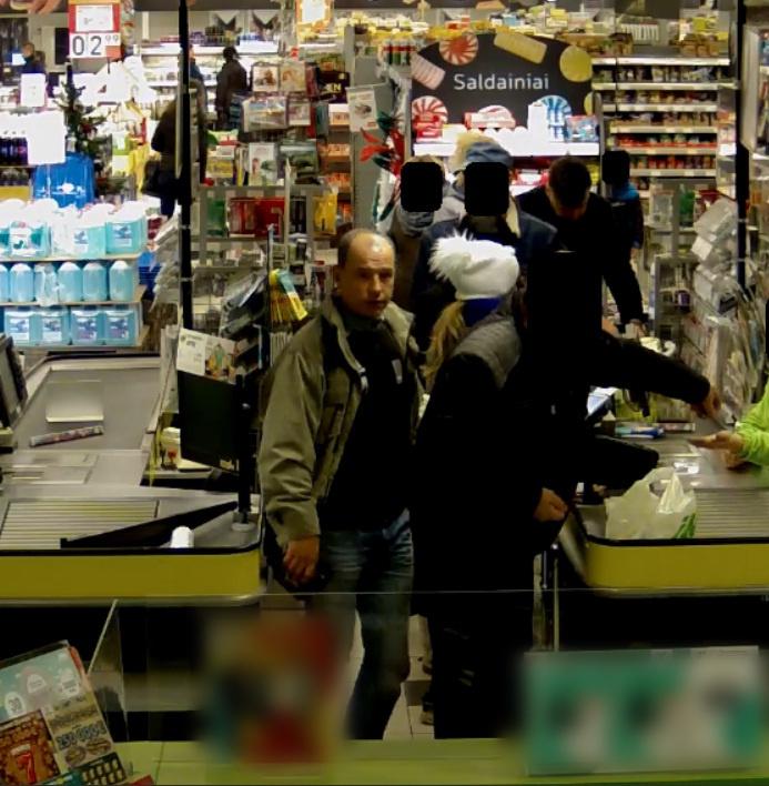 Policija ieško už prekes nesumokėjusio vyro