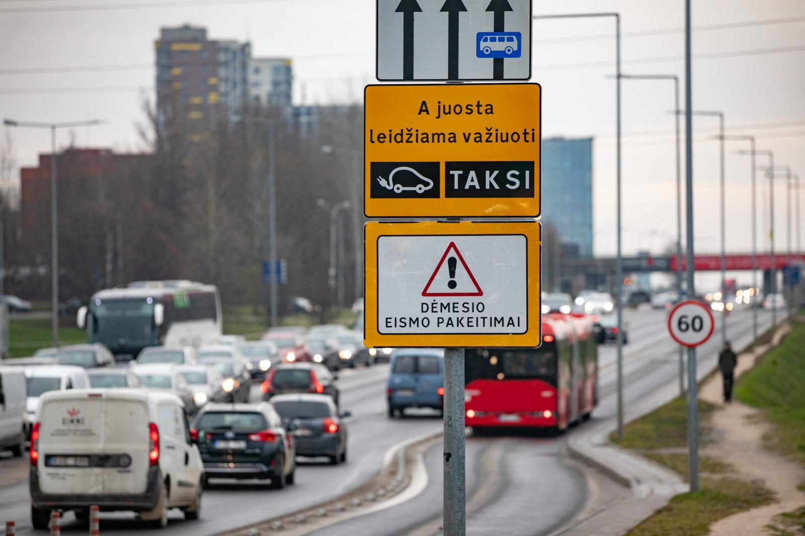 Viešasis transportas Vilniuje judės greičiau – Ukmergės gatvė tik pradžia