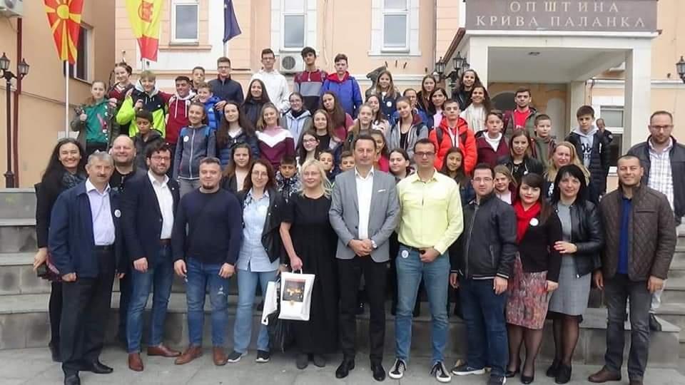 """Trečiasis Erasmus+ projekto,, Future Unique To Us, Robotics and E-Learning"""" susitikimas Makedonijoje"""