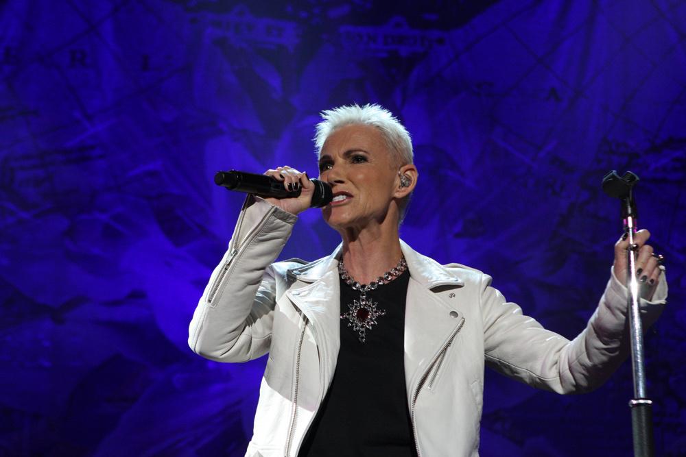 """Mirė grupės """"Roxette"""" atlikėja Marie Fredriksson"""
