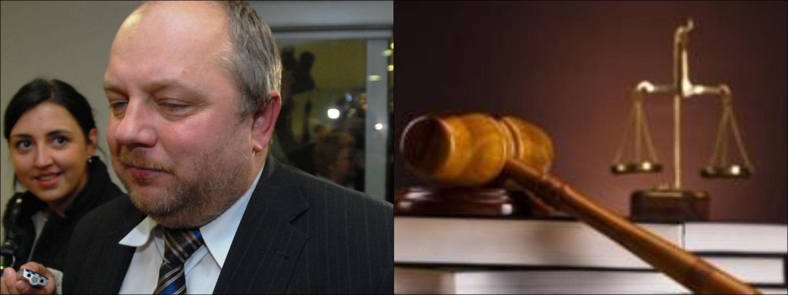 Teismas pagrįstai atsisakė atleisti G. Mikolaitį nuo baudžiamosios atsakomybės