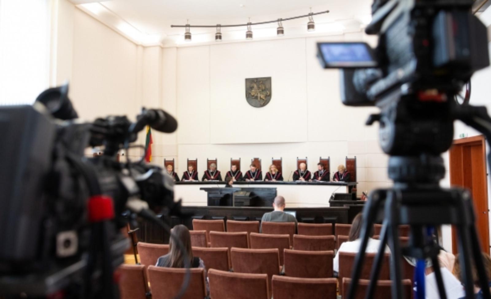 """Dėl teisėjų kratų ribojimo Seimo """"valstiečiai"""" ketina kreiptis į Konstitucinį Teismą"""