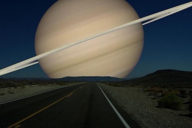 Įspūdingi vaizdai: pažvelkite kaip vietoje Mėnulio atrodytų kitos planetos
