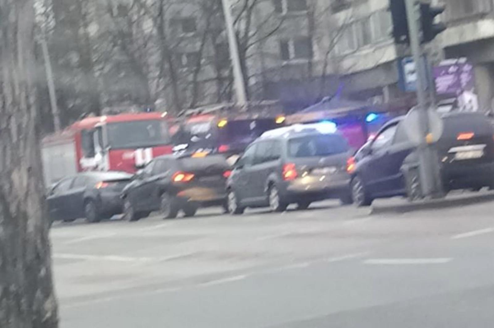 Vilniuje troleibusas prispaudė žmogų