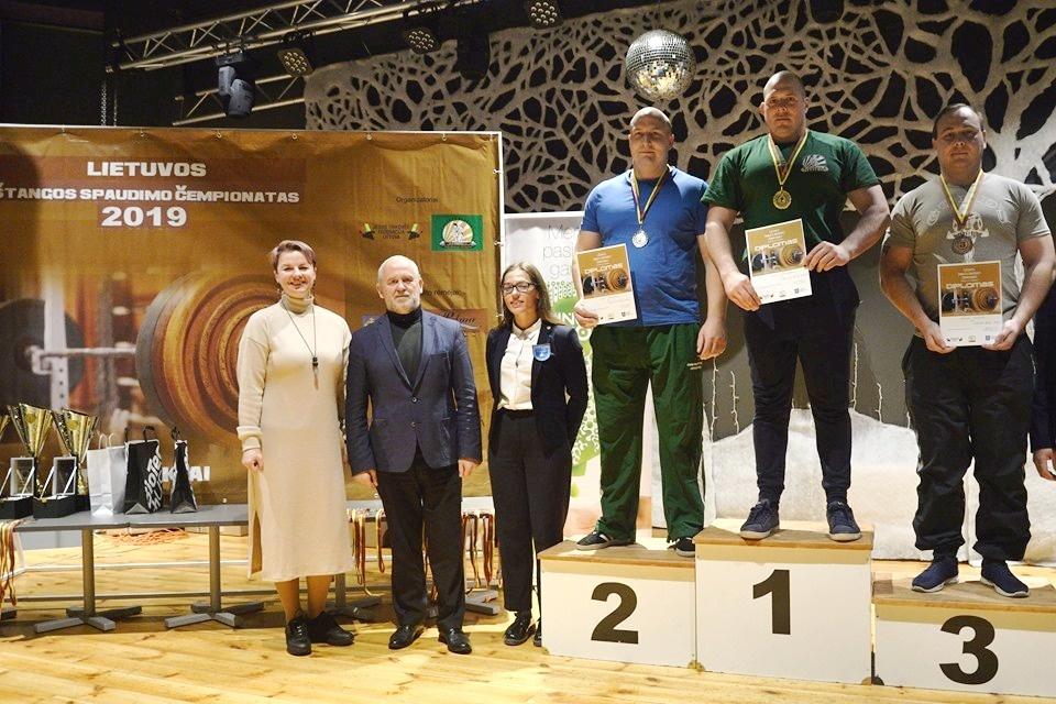 2019 m. Lietuvos štangos spaudimo čempionatas Mažeikiuose
