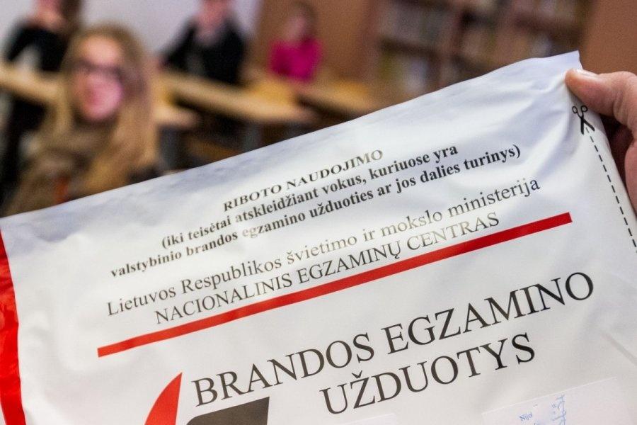 Populiariausių brandos egzaminų trejetas nesikeičia