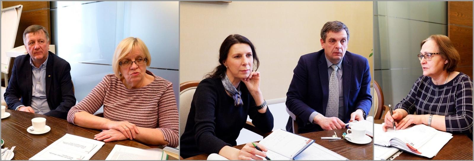 Ministerijos specialistai biržiečius ragina imtis ryžtingesnės mokyklų tinklų pertvarkos