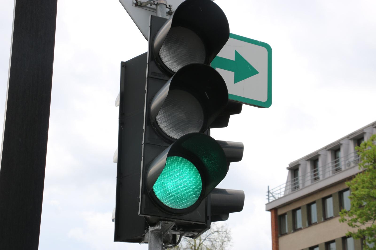 Žaliosios rodyklės sugrįš į Alytaus sankryžas!