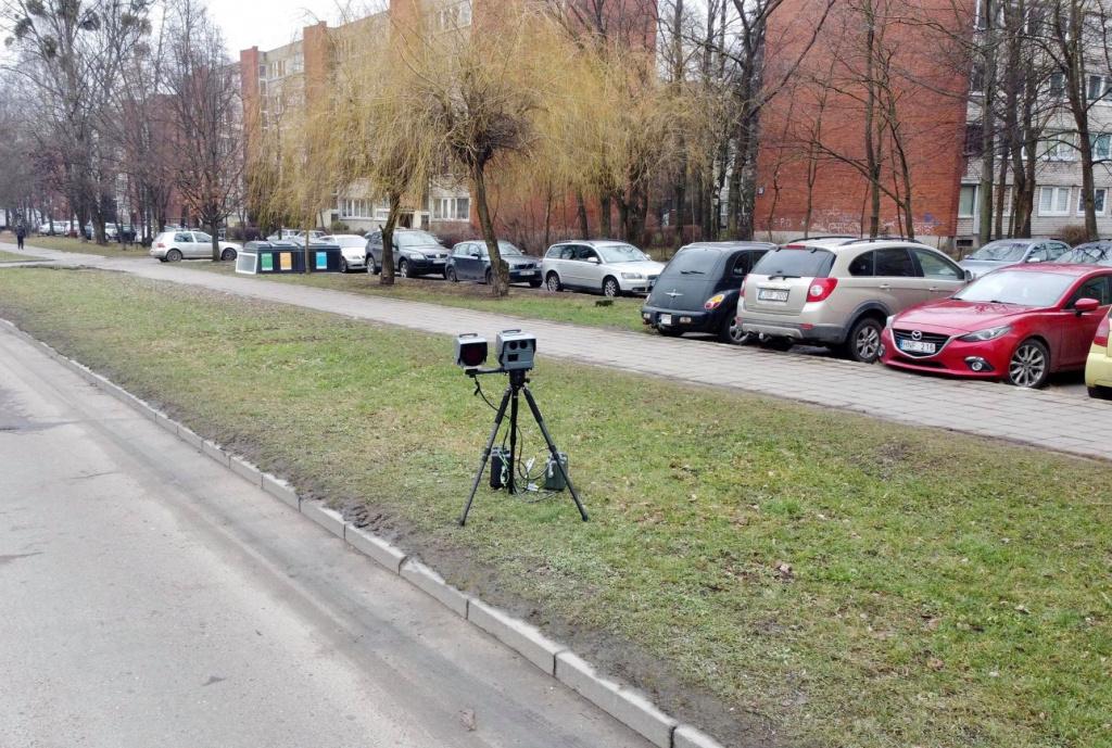 """""""Trikojų"""" tolerancija nustatoma pagal eismo sąlygas, sako Kauno pareigūnai"""