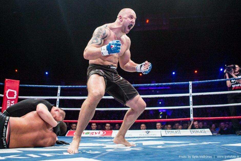 Geriausias Lietuvos MMA sunkiasvoris sugrįžta į ringą