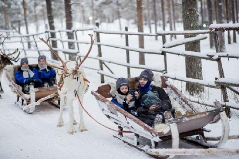 Radviliškio moksleivių įspūdžiai iš Laplandijos