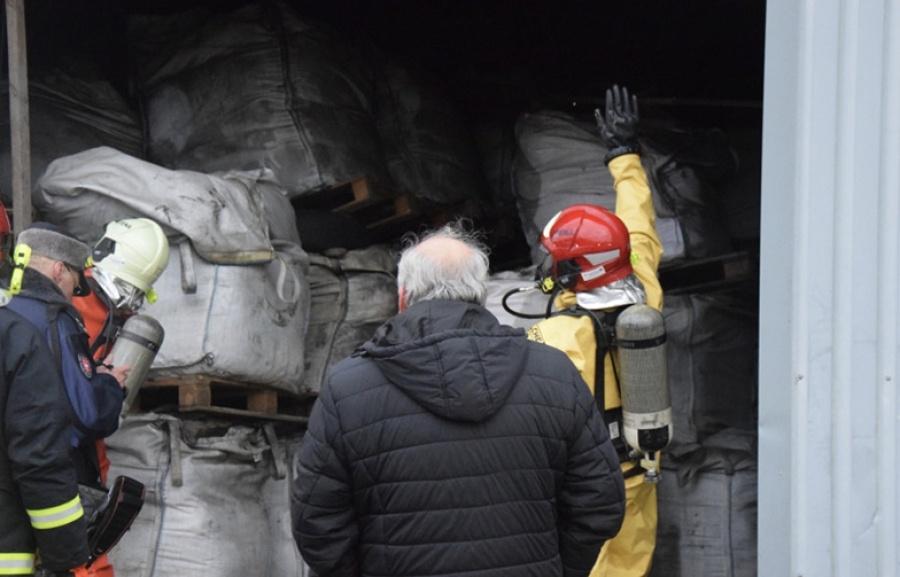 Ekstremalių situacijų komisijos posėdyje svarstytas pavojingų atliekų tvarkymo klausimas