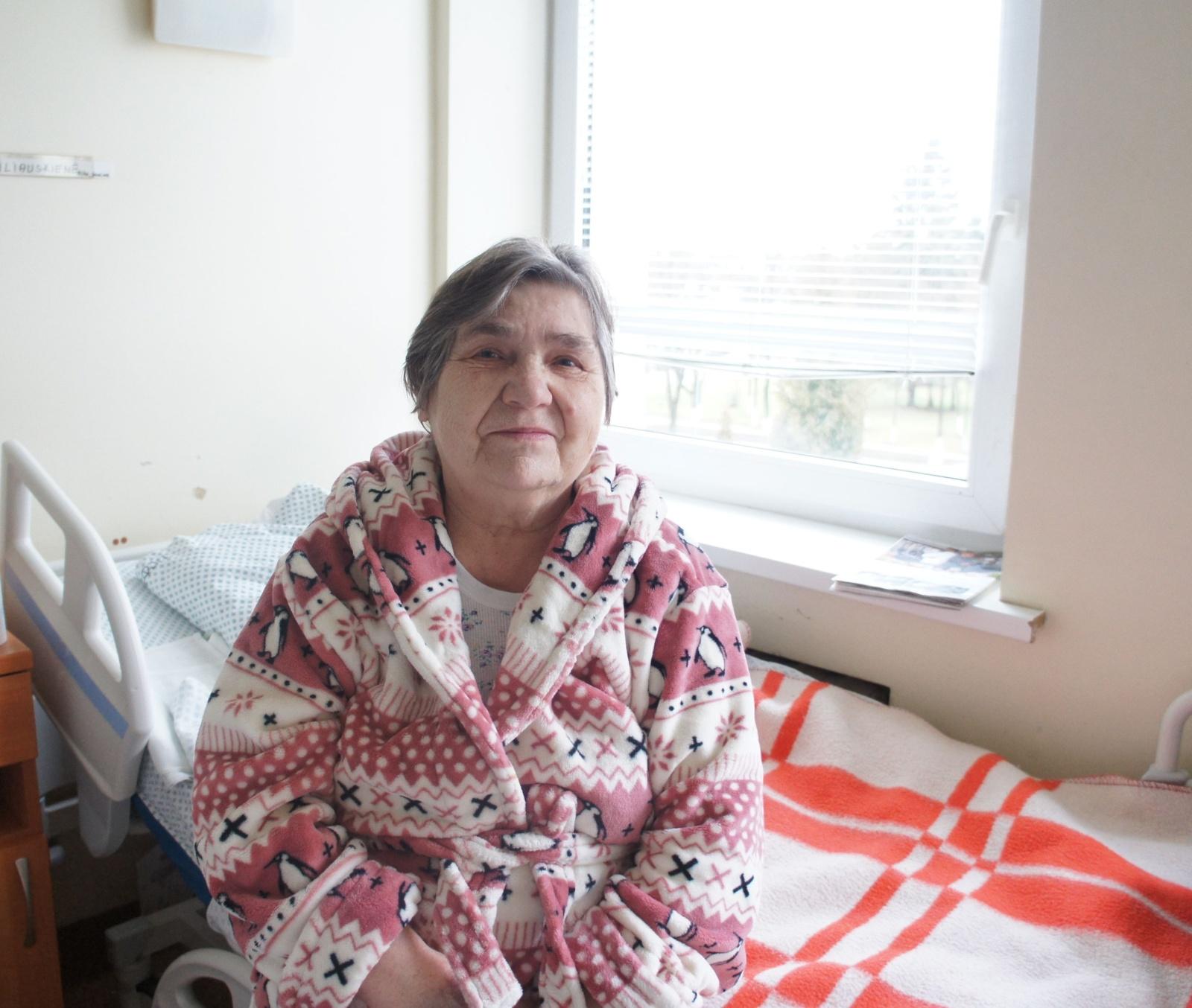 Insulto ištiktos moters gyvybę gelbėjo profesionalių medikų komanda