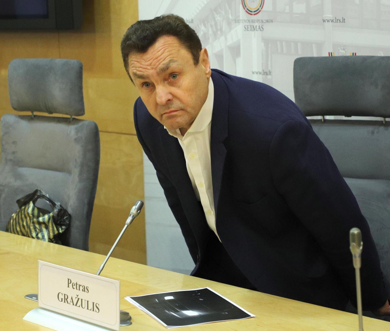 Etikos sargai nesiėmė ginti nuo P. Gražulio nukentėjusios STT reputacijos