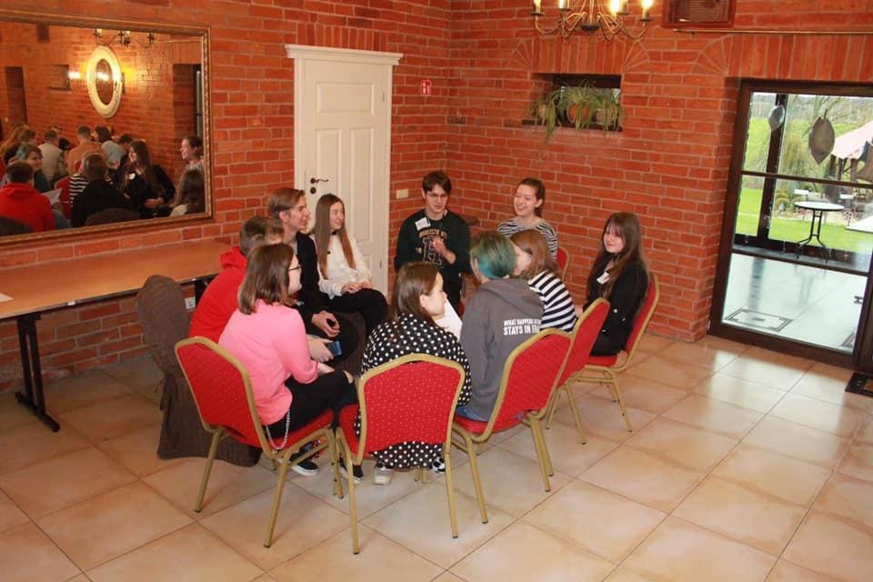 Vilkaviškio rajono LMS padalinio ir savivaldybės mokinių tarybų mokymai
