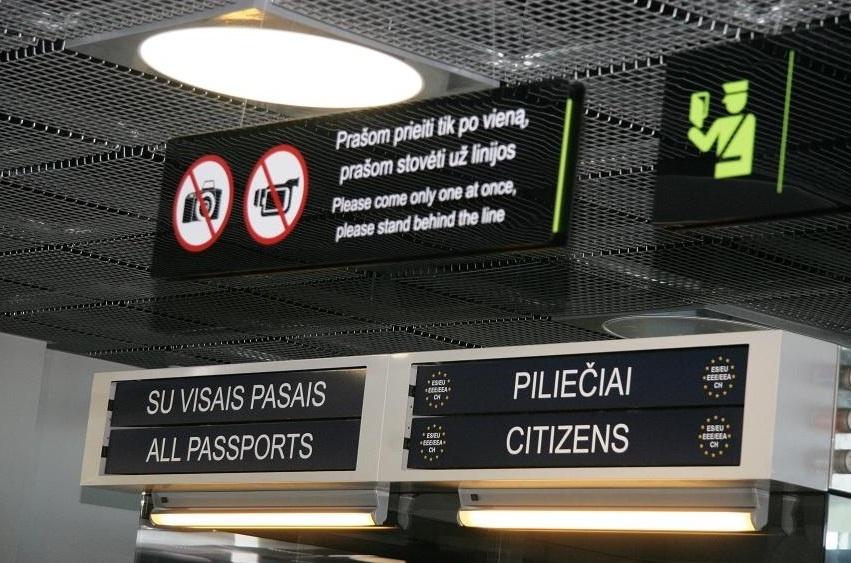 Augant imigracijai, padaugėjo ir į Lietuvą neįleidžiamų asmenų