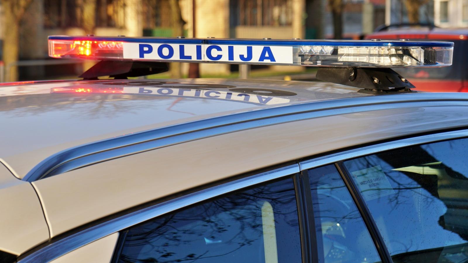 Kaišiadorių rajone pavogtas automobilis