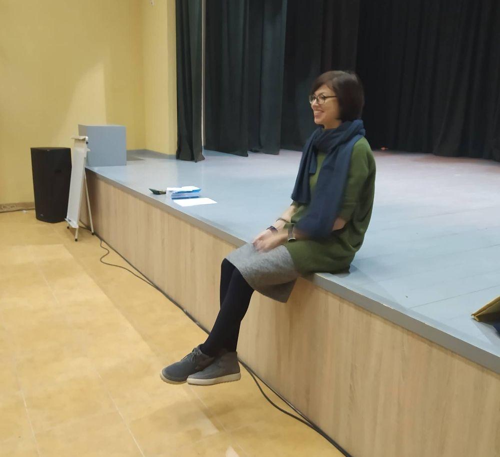 Rėkyvoje įvyko susitikimas su nominuota 2019 metų knygos autore Dovile Zavedskaite