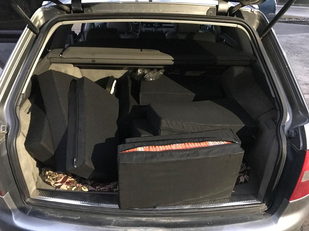 Areštinėje atsidūrė ir kontrabandą gabenę lietuviai, ir ją atvežę mašinistai baltarusiai