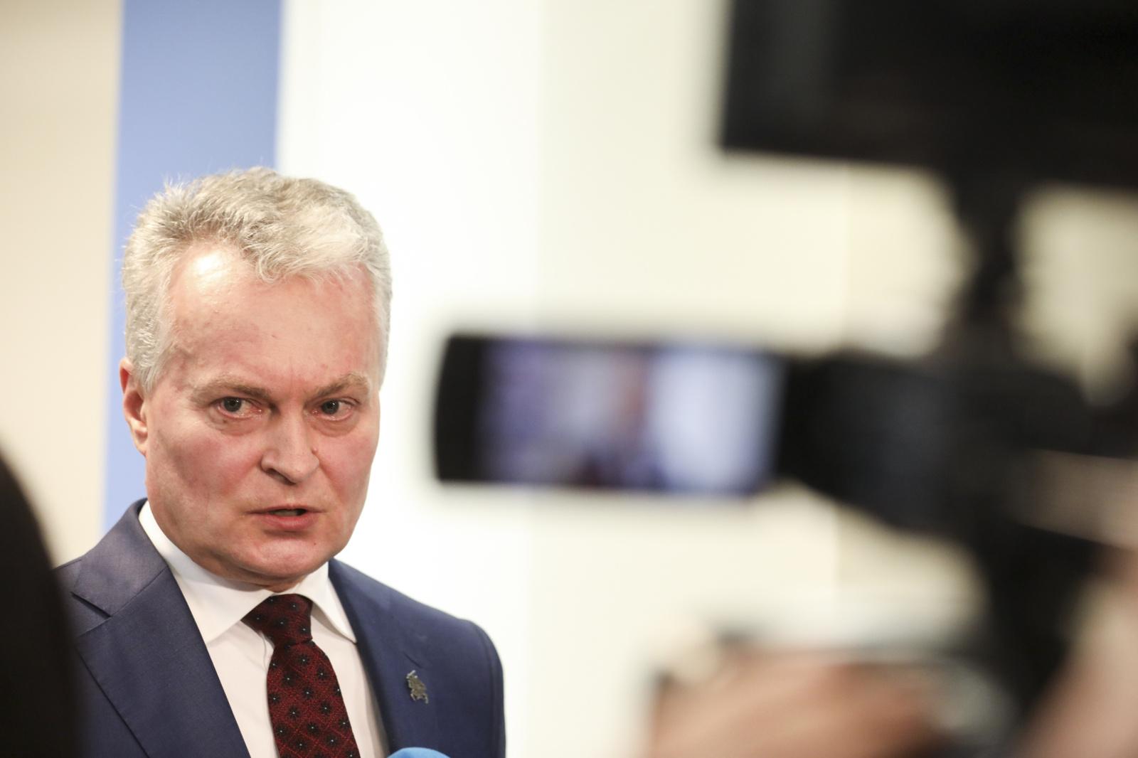G. Nausėda apie R. Karbauskio bandymą pridengti J. Narkevičių: lūkesčiai nepagrįsti