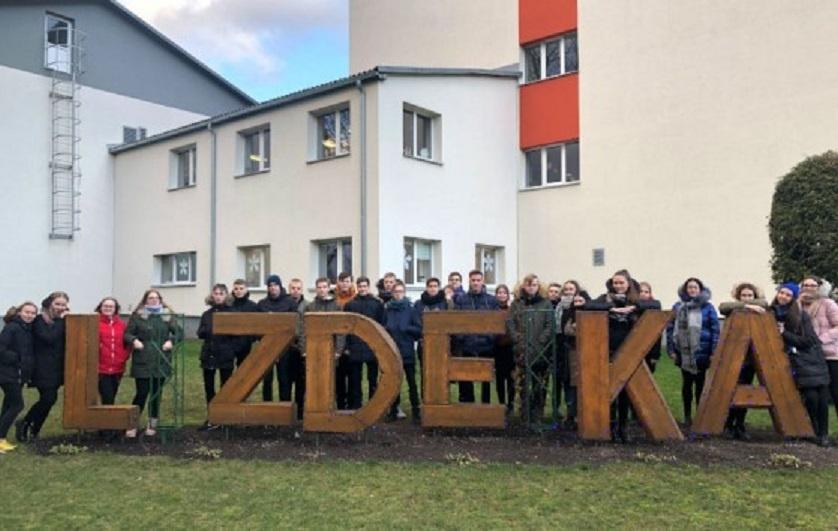 Lizdeikos gimnazijos mokinių darbas apie klimato kaitą iškovojo I vietą