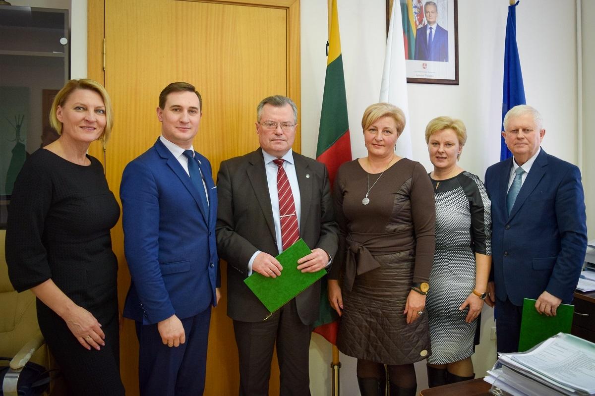 Pasirašyta Savivaldybės ir Užimtumo tarnybos bendradarbiavimo sutartis