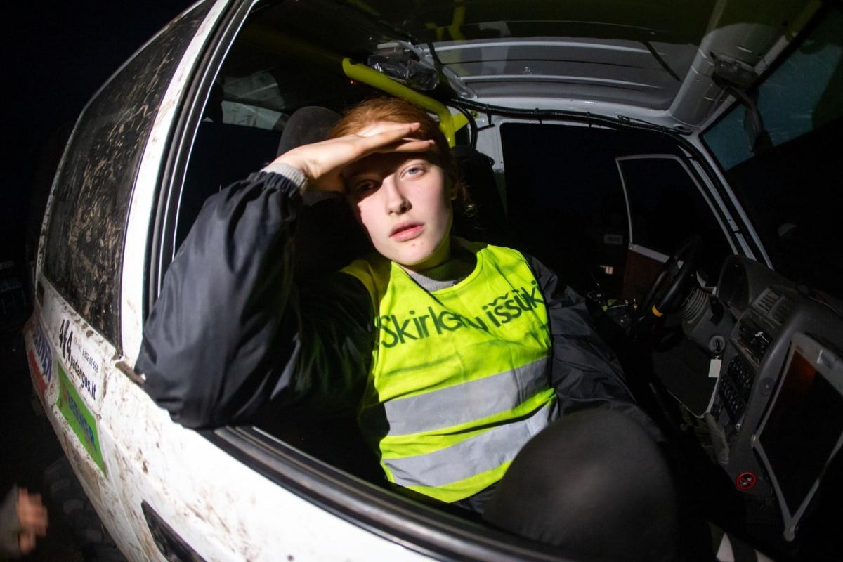 Žavioji Austėja Grikepelytė: manekenė laikysenos mokosi OffRoad`o trasoje