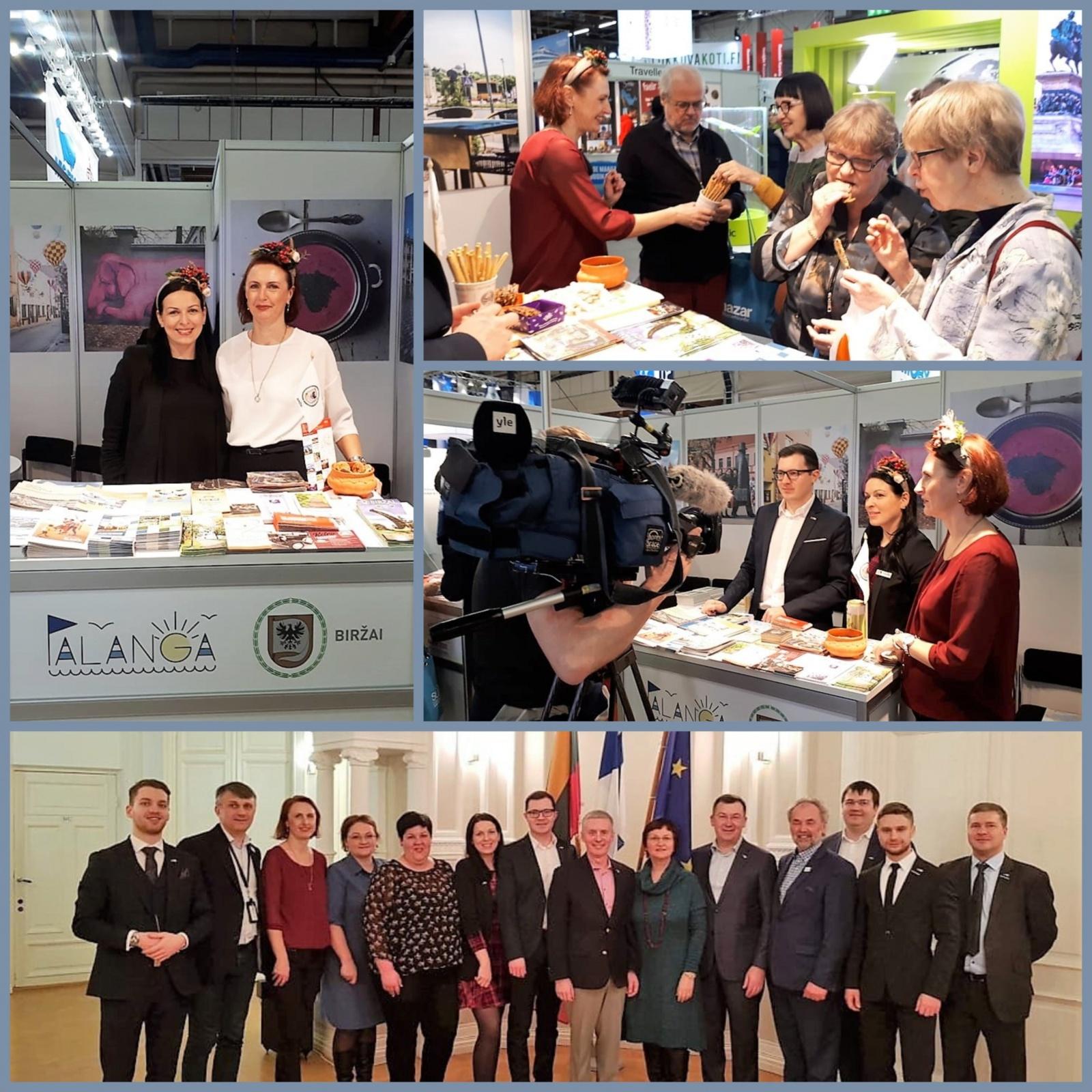 Biržiečiai sėkmingai dalyvauja tarptautinėse turizmo parodose