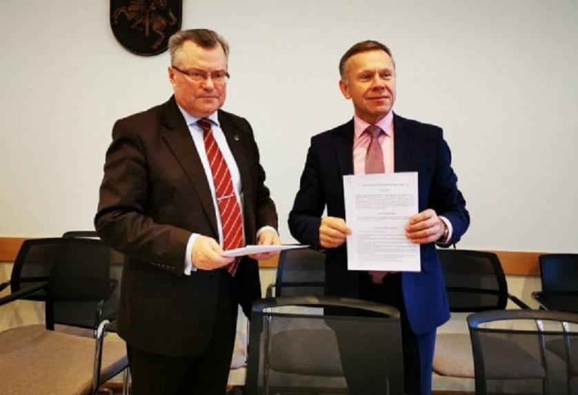 Radviliškio rajono savivaldybė pasirašė bendradarbiavimo susitarimą su Užimtumo tarnyba